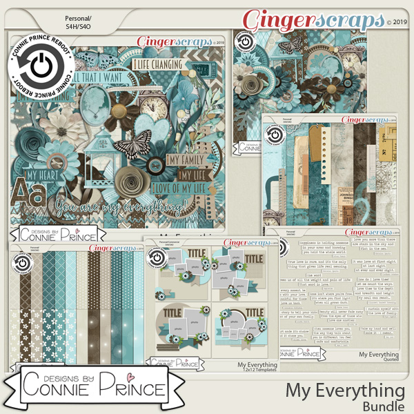 My Everything - Bundle by Connie Prince