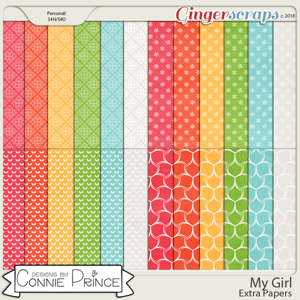 My Girl - Extra Papers by Connie Prince
