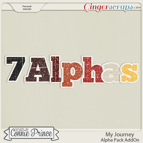 My Journey - Alpha Pack AddOn