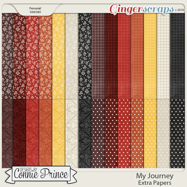My Journey - Extra Papers