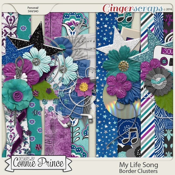 My Life Song - Border Clusters