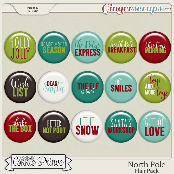 North Pole - Flair Pack by Connie Prince