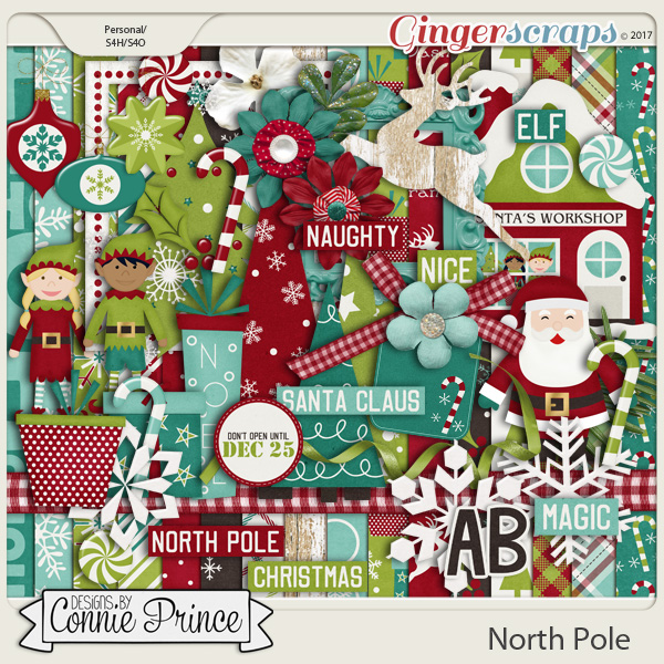 North Pole - Kit by Connie Prince