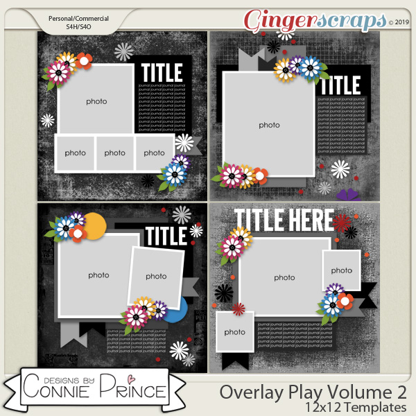 Overlay Play Volume 2 - 12x12 Temps (CU Ok) by Connie Prince