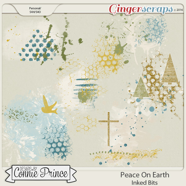 Peace On Earth - Inked Bits
