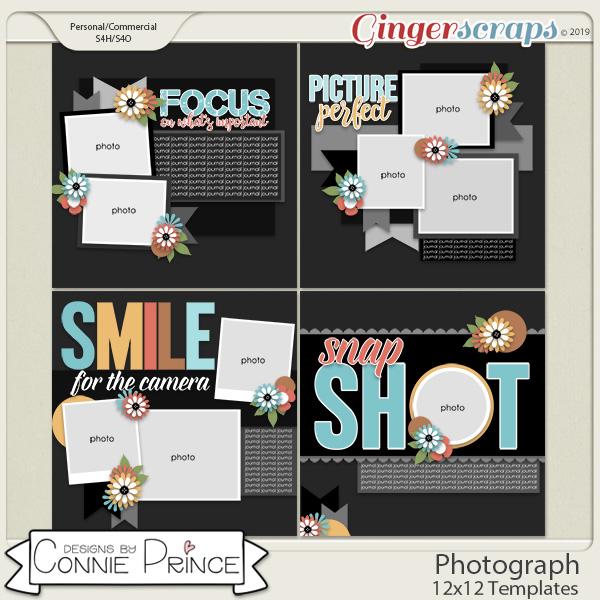 Photograph - 12x12 Templates (CU Ok) by Connie Prince