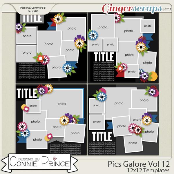 Pics Galore Volume 12 - 12x12 Temps (CU Ok) by Connie Prince