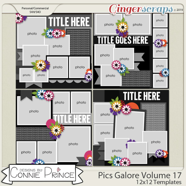 Pics Galore Volume 17 - 12x12 Temps (CU Ok) by Connie Prince