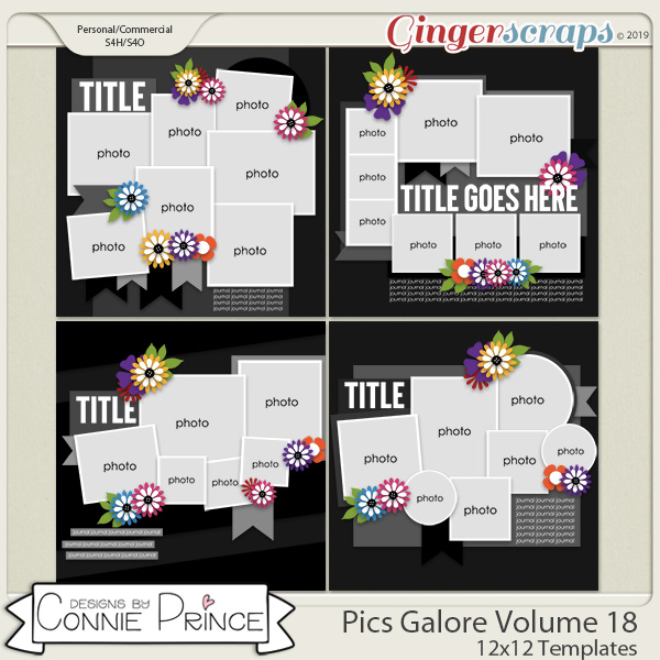 Pics Galore Volume 18 - 12x12 Temps (CU Ok) by Connie Prince