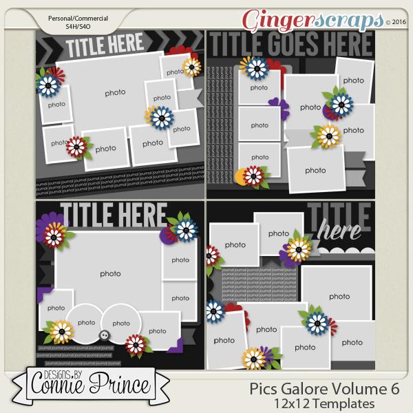 Pics Galore Volume 6 - 12x12 Temps (CU Ok)