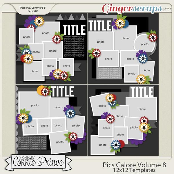 Pics Galore Volume 8 - 12x12 Temps (CU Ok)