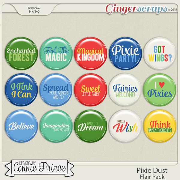 Pixie Dust - Flair Pack