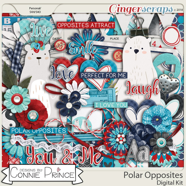 Polar Opposites - Kit by Connie Prince