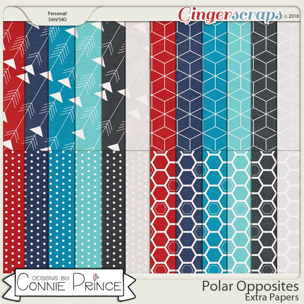 Polar Opposites - Extra Papers by Connie Prince