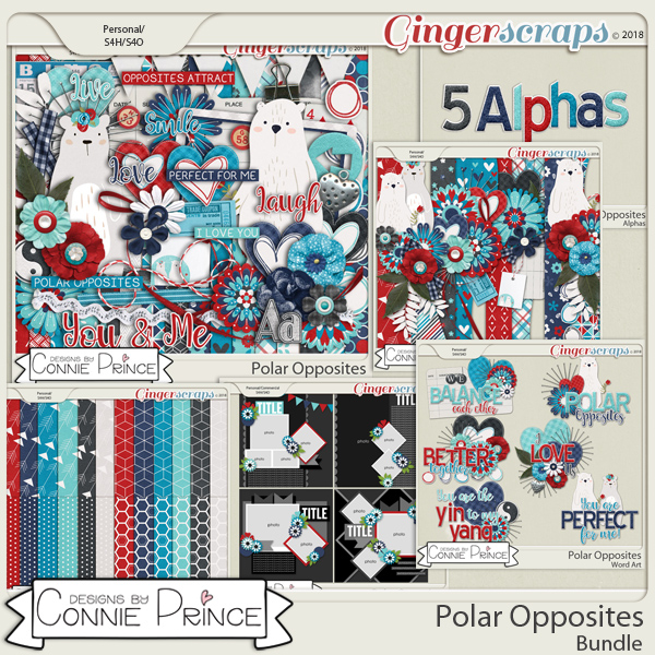 Polar Opposites - Bundle by Connie Prince