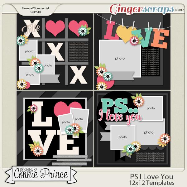 PS..I Love You - 12x12 Temps (CU Ok)