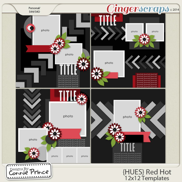 {HUES} Red Hot - 12x12 Temps (CU Ok)