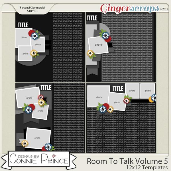 Room To Talk Volume 5 - 12x12 Temps (CU Ok) by Connie Prince