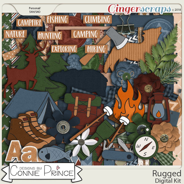 Rugged - Kit by Connie Prince