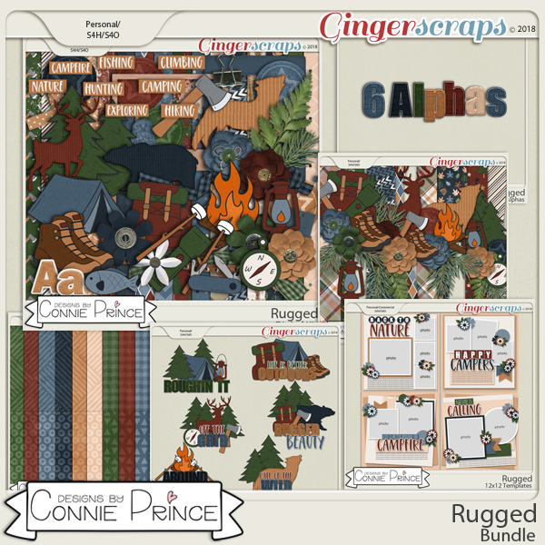Rugged - Bundle by Connie Prince