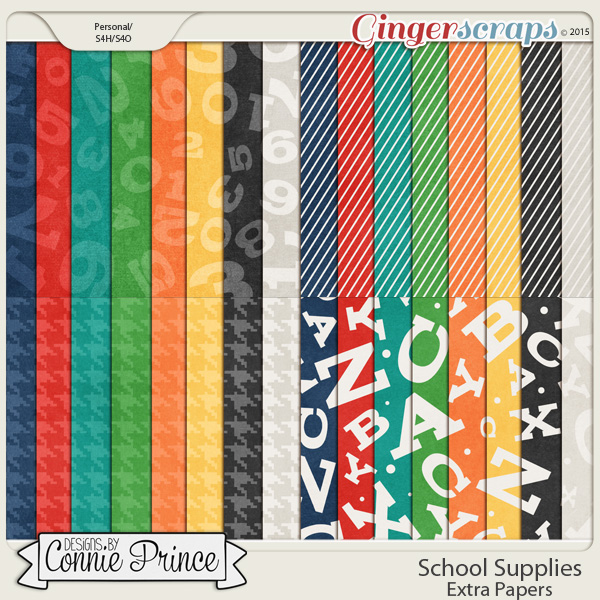 School Supplies - Extra Papers