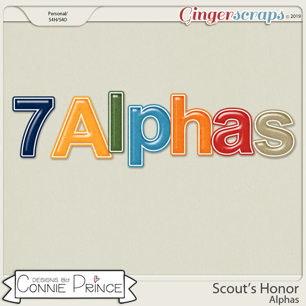 Scout's Honor - Alpha Pack AddOn by Connie Prince