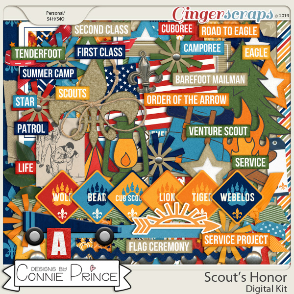 Scout's Honor - Kit by Connie Prince