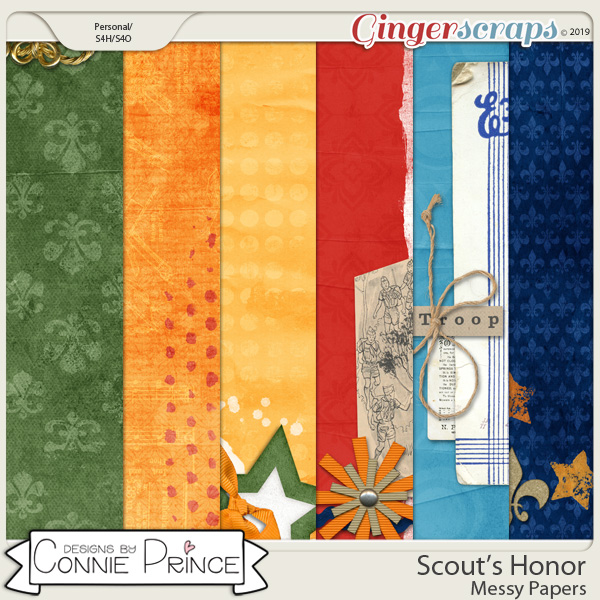 Scout's Honor - Messy Papers by Connie Prince