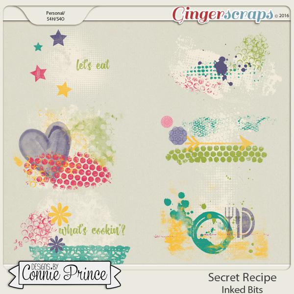 Secret Recipe  - Inked Bits