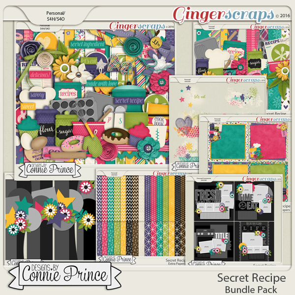 Secret Recipe  - Bundle
