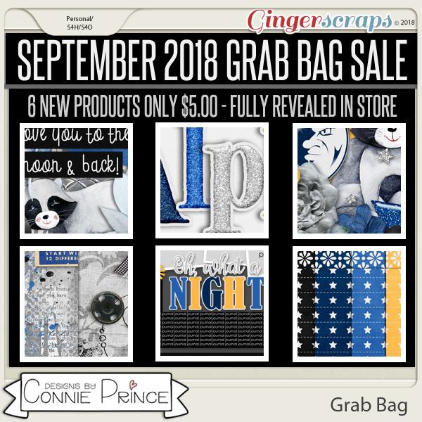 September 2018 Grab Bag - Moonlit by Connie Prince
