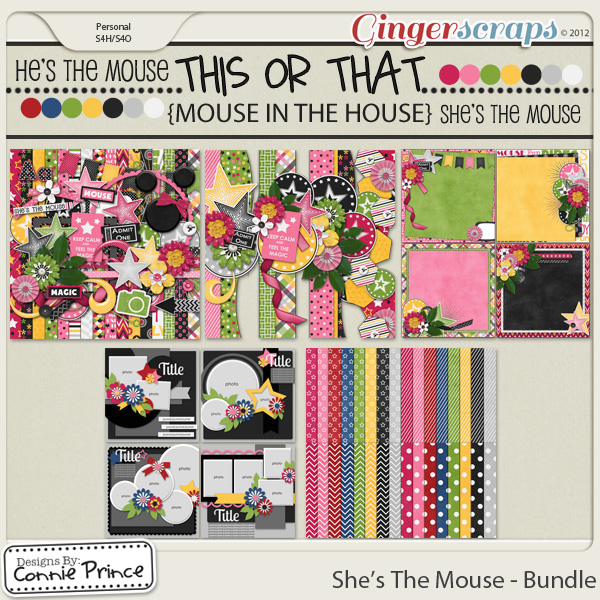 She's The Mouse - Bundle
