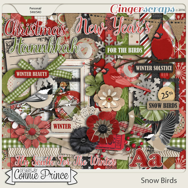 Snow Birds - Kit