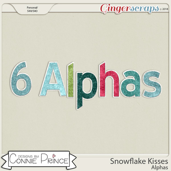 Snowflake Kisses - Alpha Pack AddOn by Connie Prince
