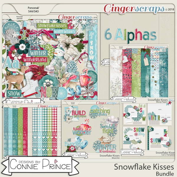 Snowflake Kisses - Bundle by Connie Prince