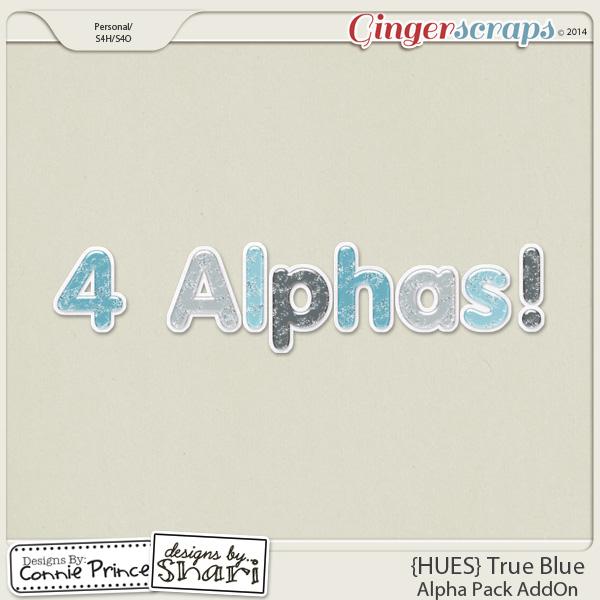 {HUES} True Blue - Alpha Pack AddOn