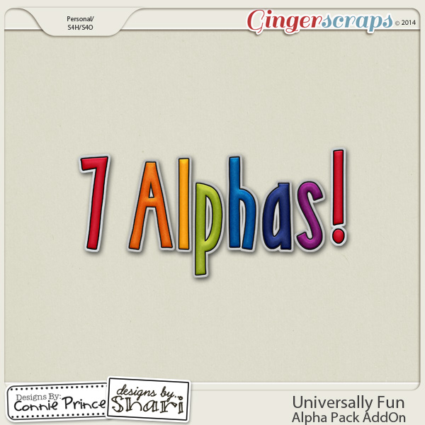 Universally Fun - Alpha Pack AddOn