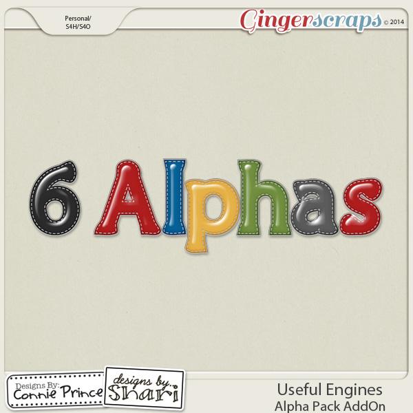 Useful Engines - Alpha Pack AddOn