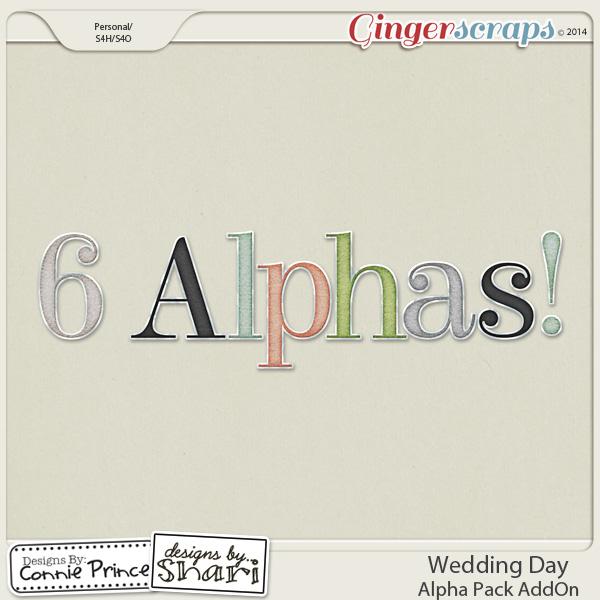 Wedding Day - Alpha Pack AddOn