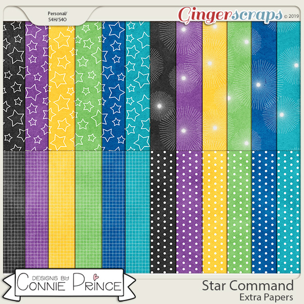 Star Command - Extra Papers by Connie Prince
