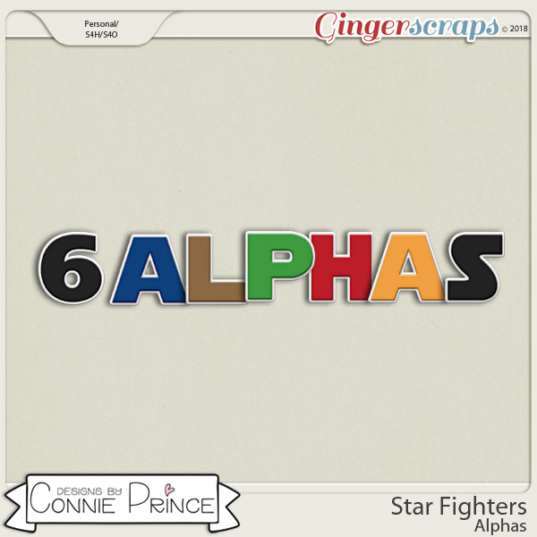 Star Fighters- Alpha Pack AddOn by Connie Prince