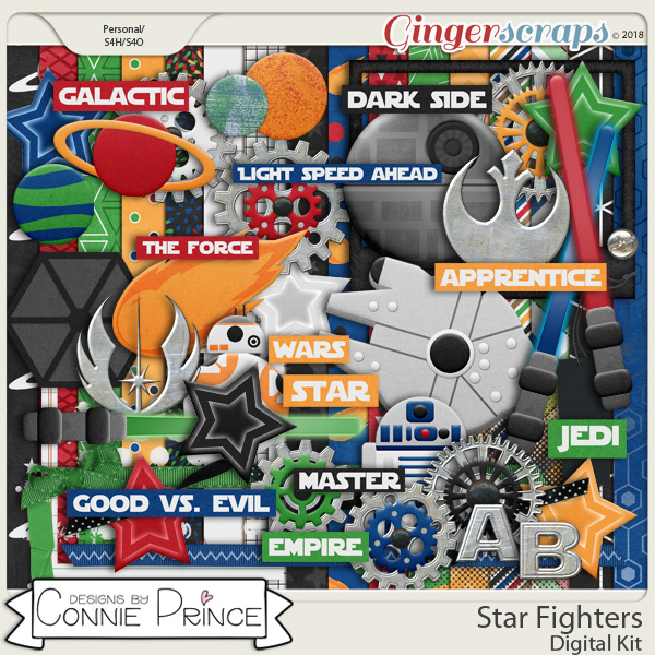 Star Fighters - Kit by Connie Prince
