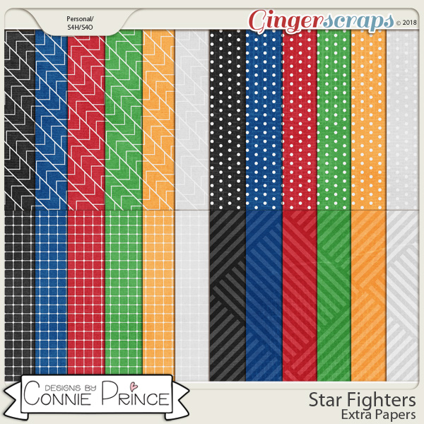 Star Fighters - Extra Papers by Connie Prince