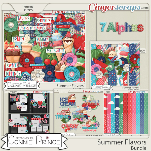 Summer Flavors - Bundle by Connie Prince