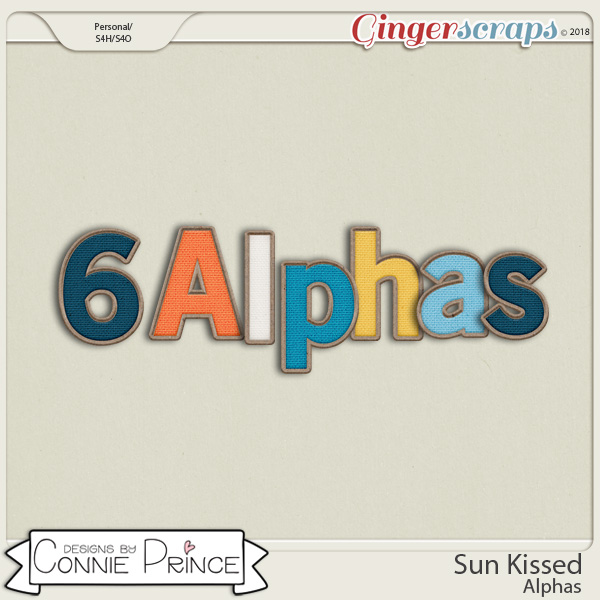 Sun Kissed- Alpha Pack AddOn by Connie Prince