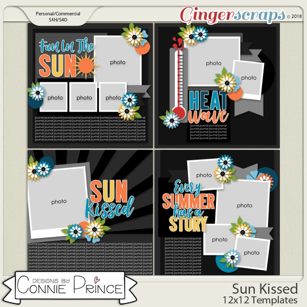 Sun Kissed - 12x12 Temps (CU Ok) by Connie Prince