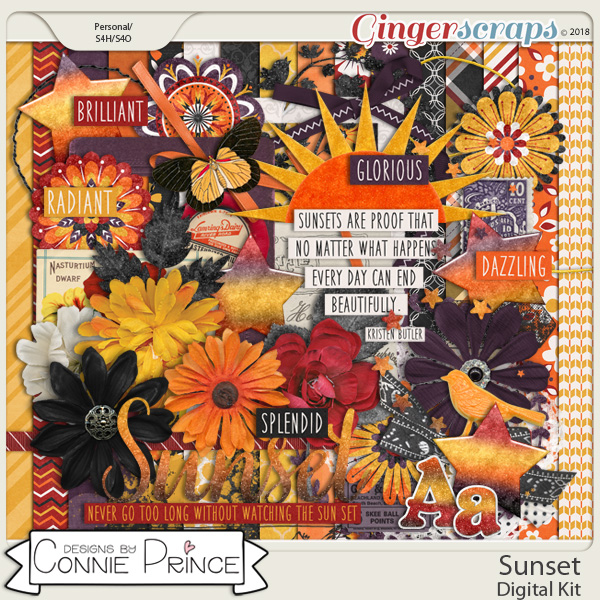 Sunset - Kit by Connie Prince