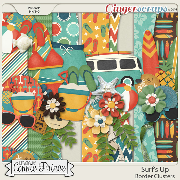 Surf's Up - Border Clusters