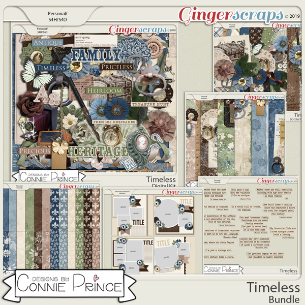 Timeless - Bundle by Connie Prince