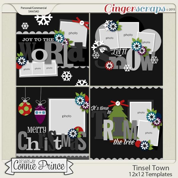 Tinsel Town - 12x12 Temps (CU Ok)